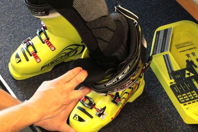 Skischoenen passen.