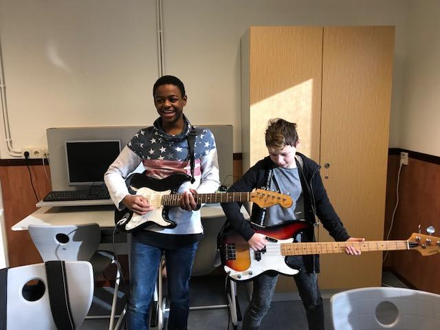 De muzikanten van de toekomst.