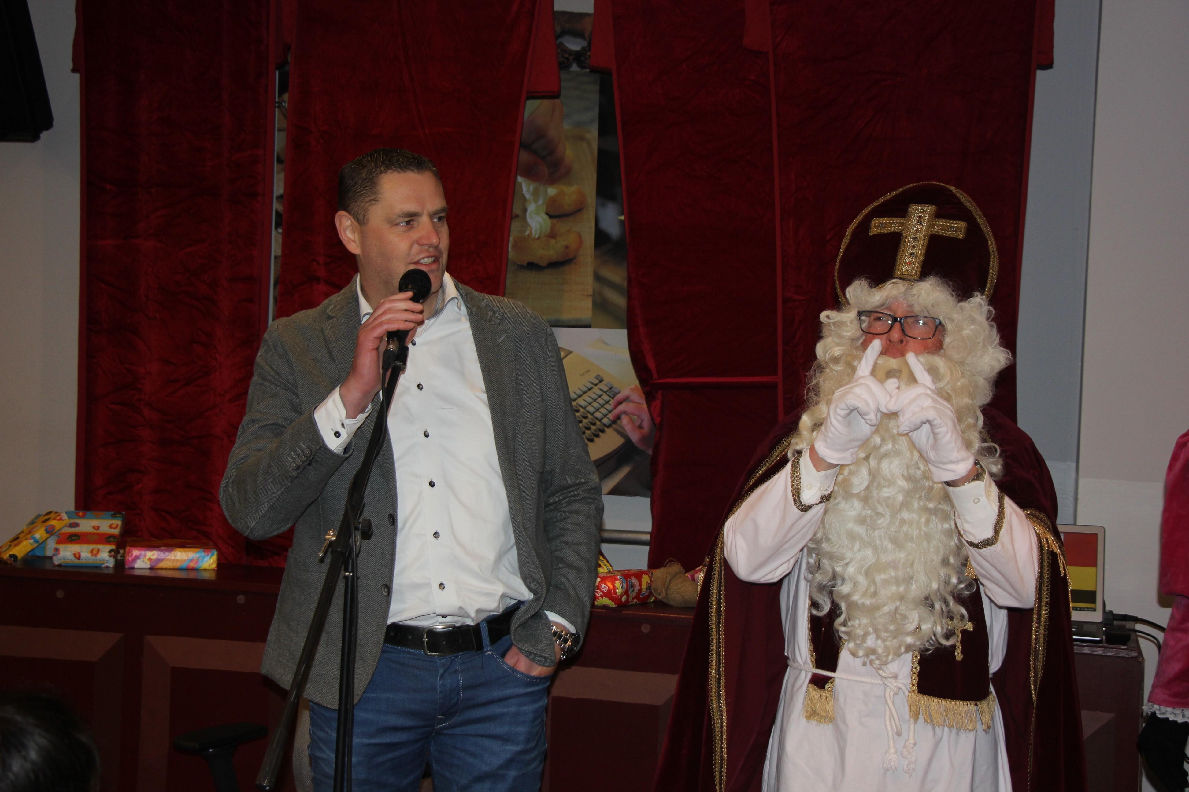 Sinterklaas 2019.